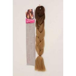 Zenci Örgüsü Saçı, Afrika Örgüsü Malzemesi,Rasta,Topuz Saçı KUMRAL-KOYU ALTIN SARI-OMBRE-T6/27)